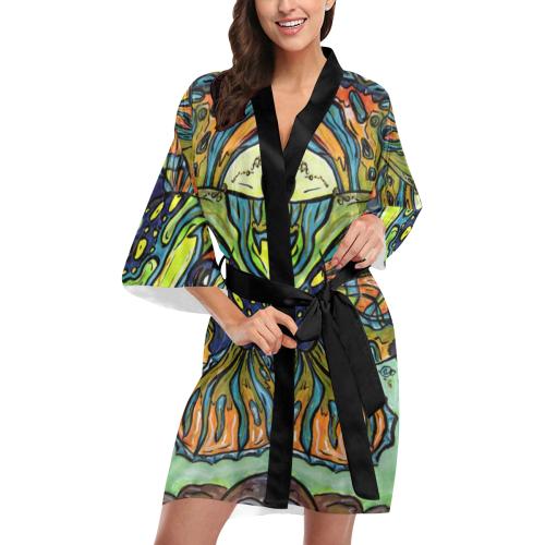 Mindy the Mandarin Fish Kimono Kimono Robe