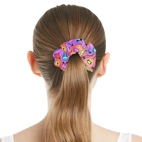 Squirlies 7000px All Over Print Hair Scrunchie