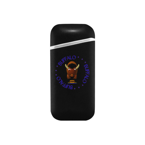 Buffalo NY Chicken Wings Beef on Weck Curved Edge USB Lighter (Lateral Button)