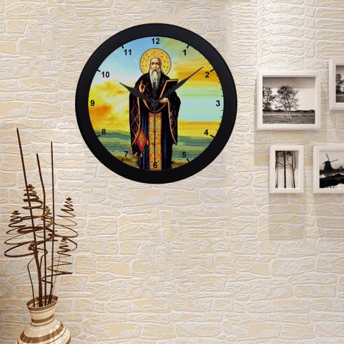 Mar ZIa Circular Plastic Wall clock