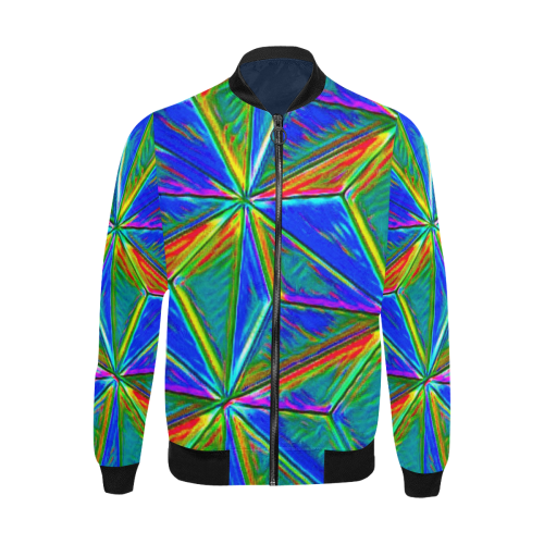 Vivid Life 1E  by JamColors All Over Print Bomber Jacket for Men (Model H31)