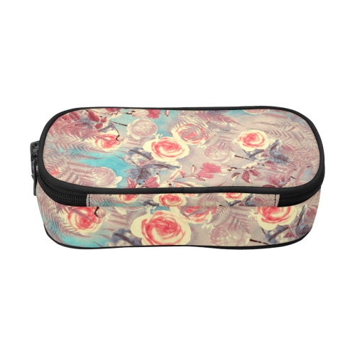 flowers #flowers #pattern Pencil Pouch/Large (Model 1680)