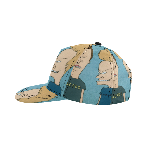 Beavis_&_Butt-head2 All Over Print Snapback Hat D
