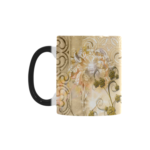 Funny steampunk giraffe Custom Morphing Mug (11oz)