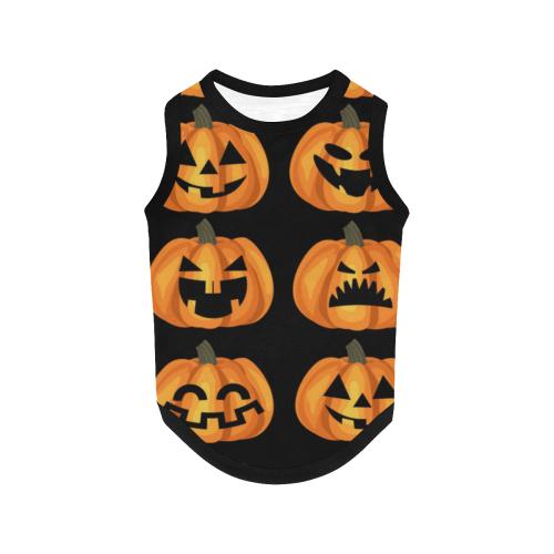 Cute Pumpkins All Over Print Pet Tank Top