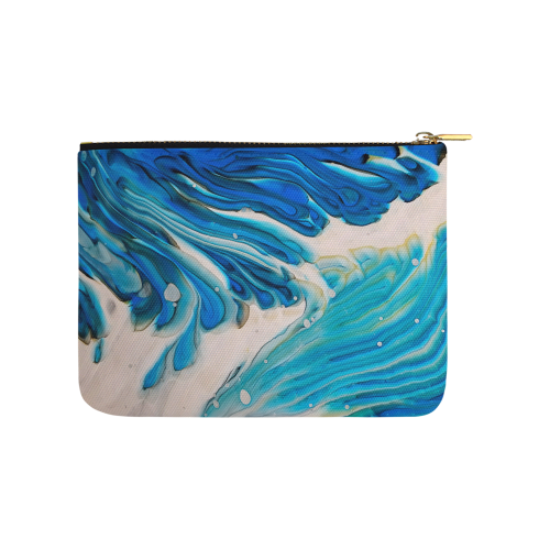 vivaldi waves. Carry-All Pouch 8''x 6''