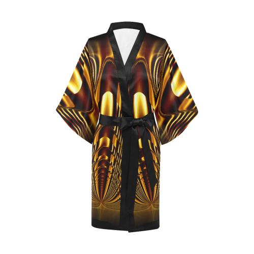 Golden Light Cup Kimono Robe