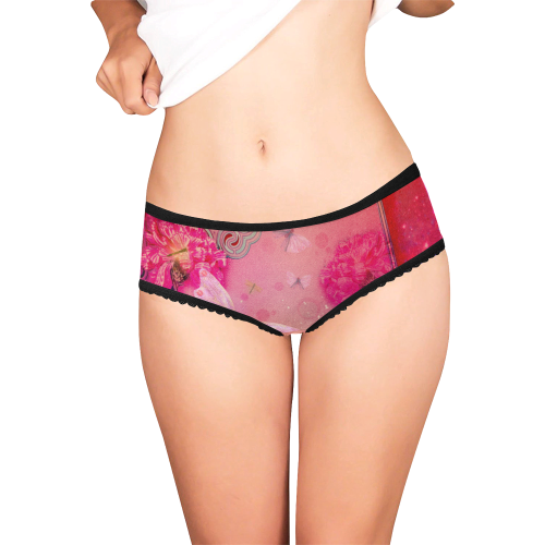 Wonderful butterflies Women's All Over Print Girl Briefs (Model L14)