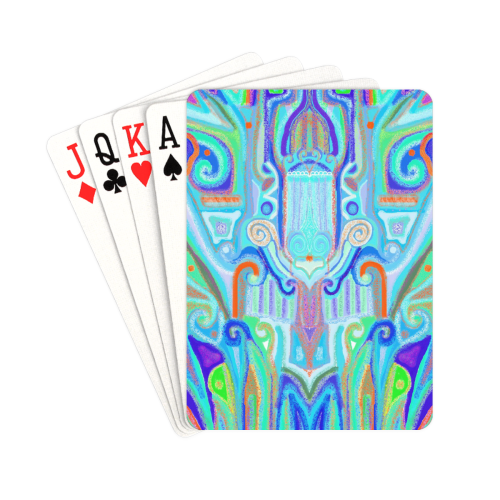 "cover 7 Playing Cards 2.5""x3.5"""