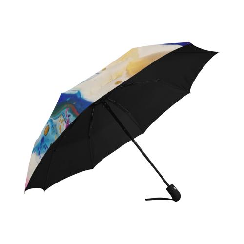 rainbow symphony Anti-UV Auto-Foldable Umbrella (U09)
