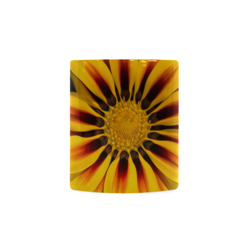 Mexican Sunflower Custom White Mug (11OZ)