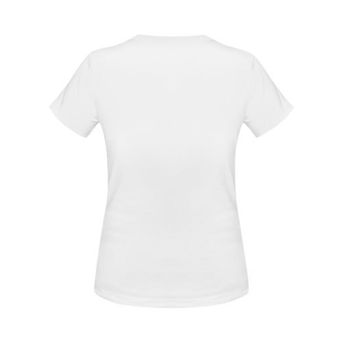 stego womens tee white Women's Classic T-Shirt (Model T17)