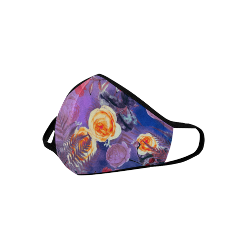 flowers #flowers #pattern Mouth Mask