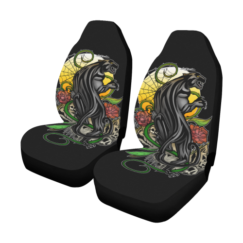 Panther Car Seat Covers (Set of 2)