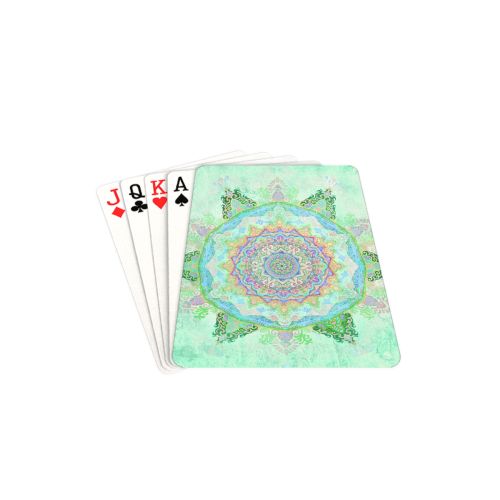 "india 4 Playing Cards 2.5""x3.5"""