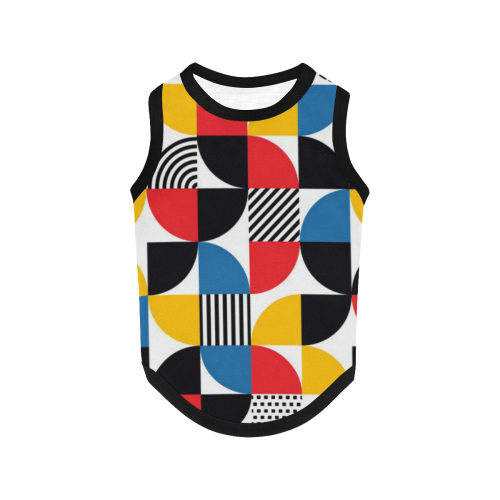 Abstract All Over Print Pet Tank Top