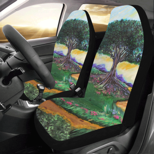 Tree Of Imagination Car Seat Covers (Set of 2)