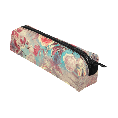 flowers #flowers #pattern Pencil Pouch/Small (Model 1681)