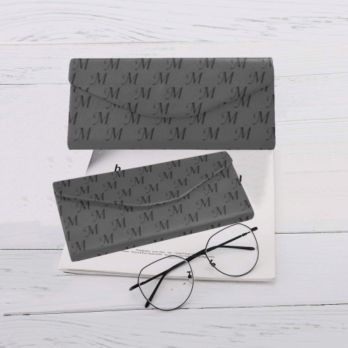 Mud-di Signature Smoky Gray Custom Foldable Glasses Case