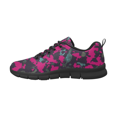 BROMBERRY CAMOUFLAGE WOODLAND WOMEN Women's Breathable Running Shoes (Model 055)