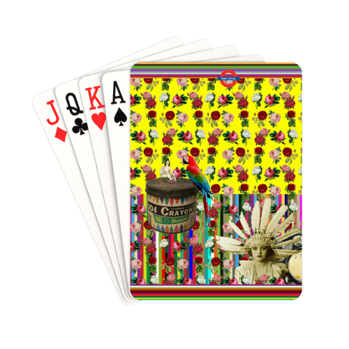 """Back in The Day Playing Cards 2.5""""x3.5"""""""