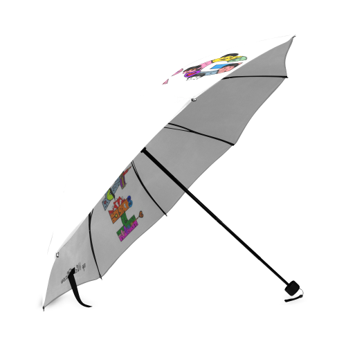 Hamburg Pop by Nico Bielow Foldable Umbrella (Model U01)
