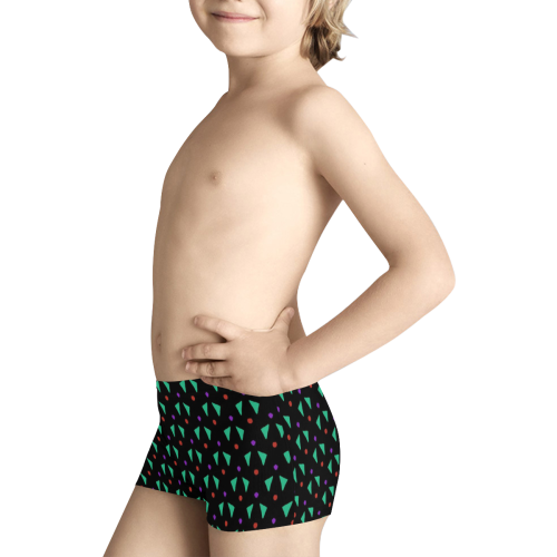 Funny Doodle Pattern 2B by JamColors Kids' All Over Print Boxer Briefs (Model L24)