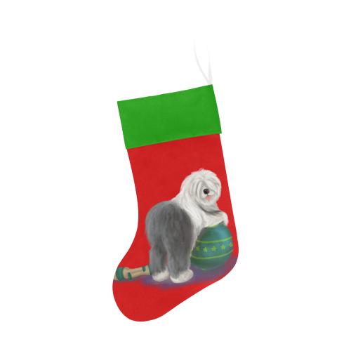 circus ball_transparent_v3 Christmas Stocking