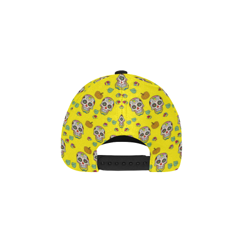 Skull Popart by Nico Bielow All Over Print Baseball Cap B