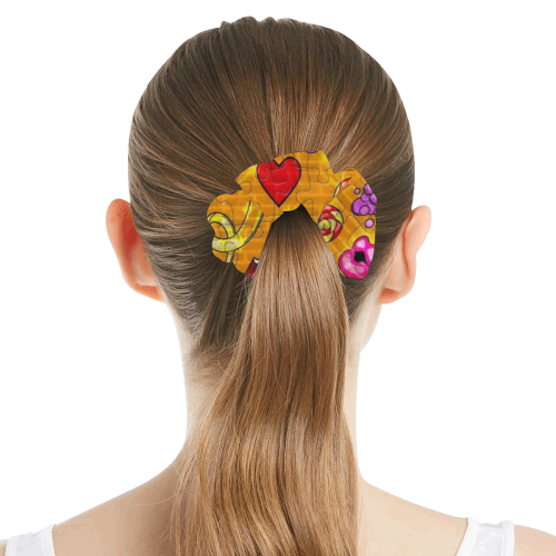 Pop by Nico Bielow All Over Print Hair Scrunchie