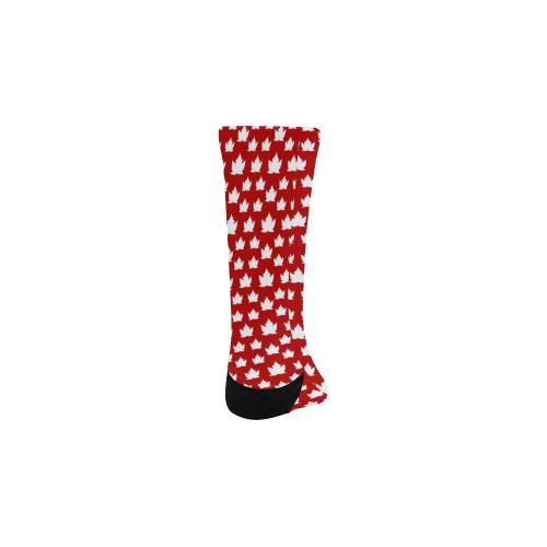 Kid's Canada Maple Leaf Socks Kids' Custom Socks