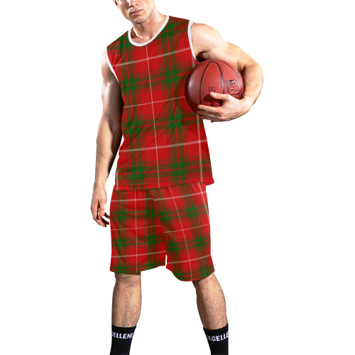 Prince of Rothesay tartan All Over Print Basketball Uniform