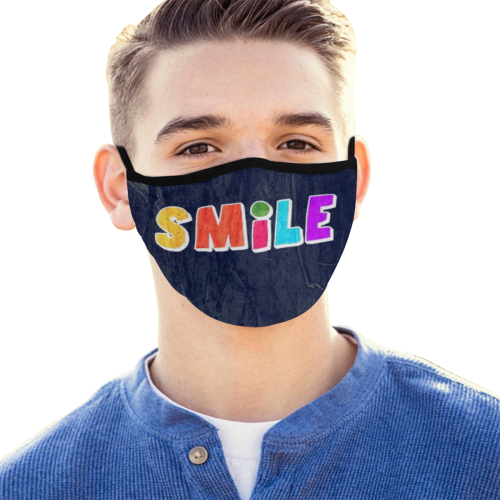Smile by Nico Bielow Mouth Mask