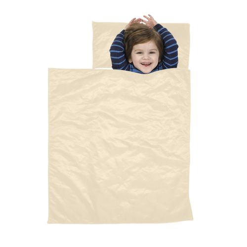 color blanched almond Kids' Sleeping Bag
