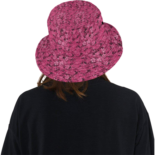 blossam flowers All Over Print Bucket Hat