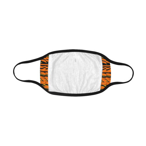 Tiger Pattern by Nico Bielow Mouth Mask
