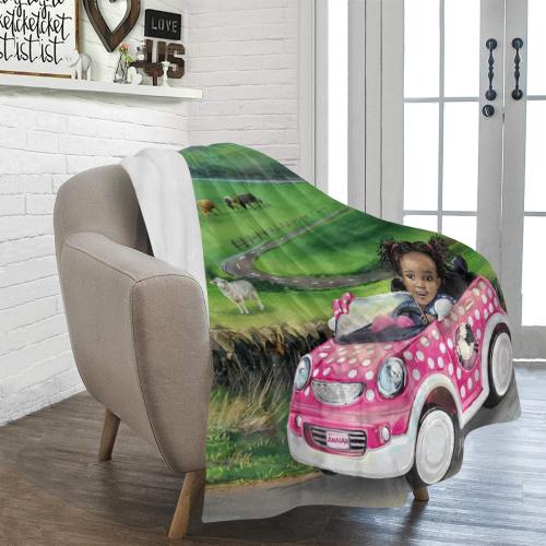 "Road Trip Blanket Ultra-Soft Micro Fleece Blanket 50""x60"""