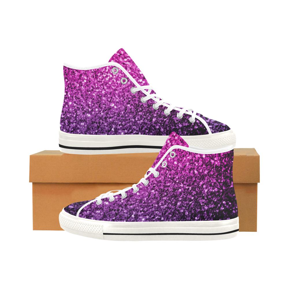 Beautiful Purple Pink Ombre glitter