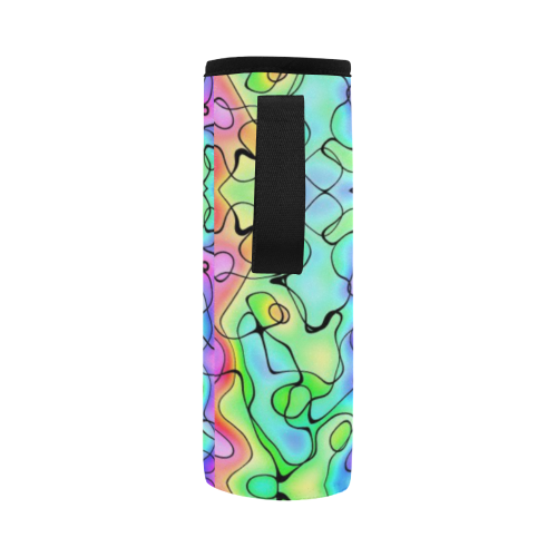 Squirlies Drink Cooler Neoprene Water Bottle Pouch/Large