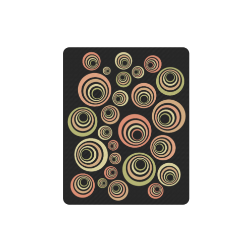Groovy 60's Classic Pattern Fun Retro Pop-art Rectangle Mousepad