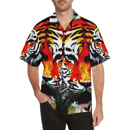 TIGER 12 Hawaiian Shirt (Model T58)