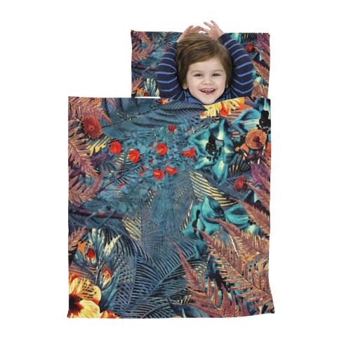 flowers #flowers #pattern Kids' Sleeping Bag