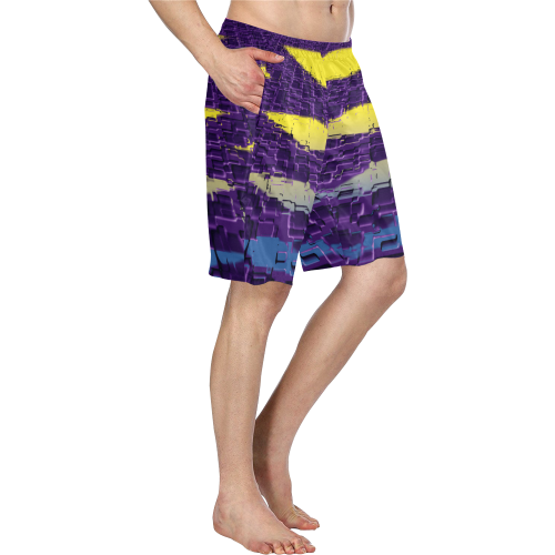 zappwaits sw002 Men's Swim Trunk/Large Size (Model L21)