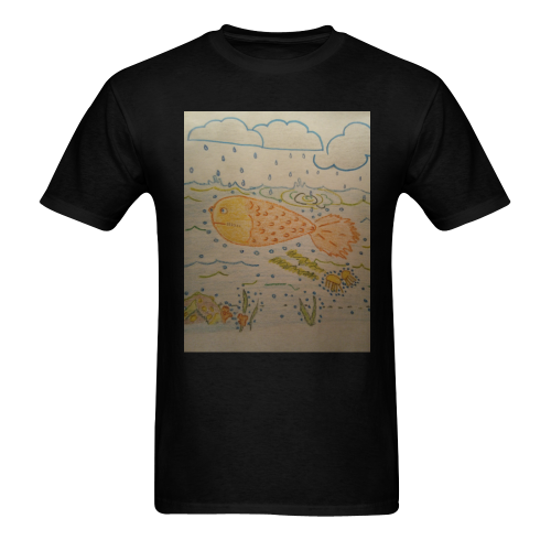under the sea Men's T-shirt in USA Size (Front Printing Only) (Model T02)