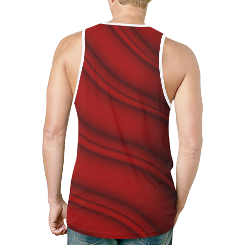 colorful ripple 0a03 New All Over Print Tank Top for Men (Model T46)