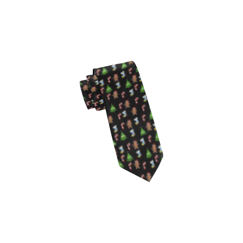 Sweet Christmas by Nico Bielow Classic Necktie (Two Sides)