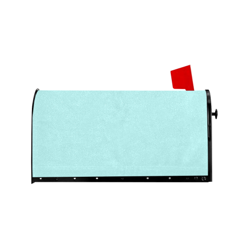 color pale turquoise Mailbox Cover