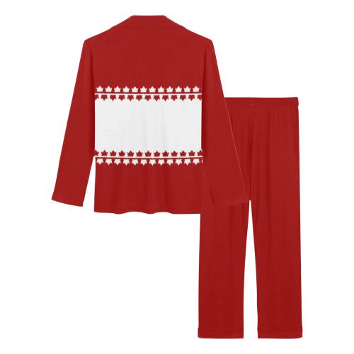 Classic Canada Sleepwear / Loungewear Women's Long Pajama Set (Sets 02)