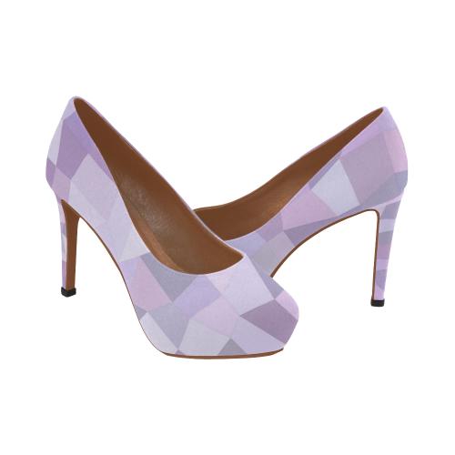 Pastel Purple Heels