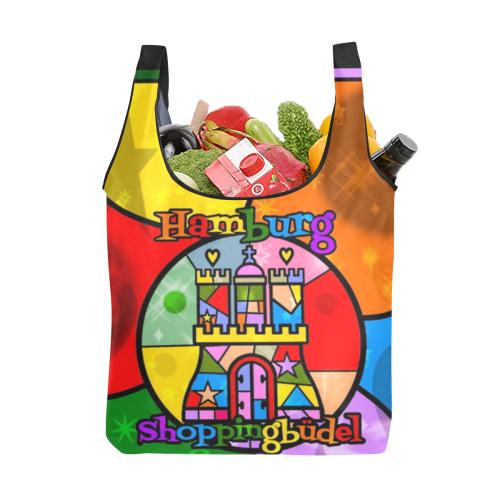 Hamburg Shoppingbüdel by Nico Bielow Foldable Reusable Grocery Bag (Model 1716)